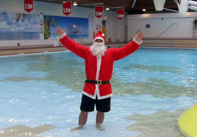 Water way to celebrate christmas - Linwood swimming pool opening times ...