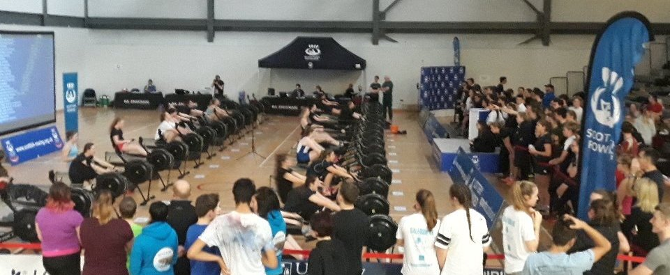 Scottish Schools Indoor Rowing championships